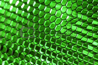 Glowing Honeycomb Structure