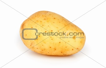 One unpeeled raw potato
