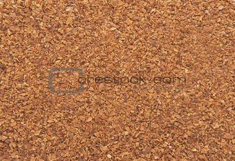 background of finely milled shell of pine nuts