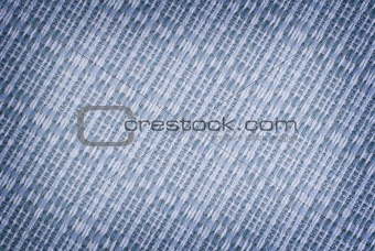 Close-up blue fabric texture background