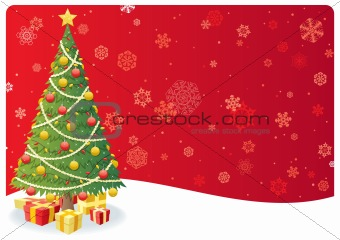 Christmas Tree Background 3