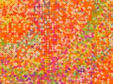 abstract background made from mosaic tiles, vector