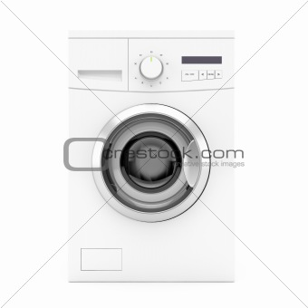 Washing machine - front view