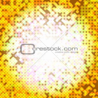 abstract mosaic, vector