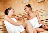 gossip in sauna 