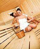 fun in sauna