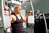 Man gym fitness