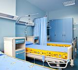 rehabilitation hospital room