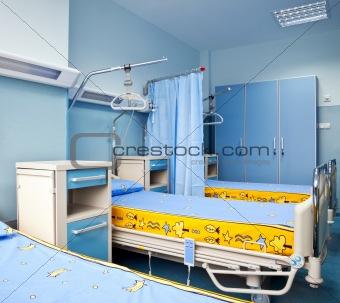 rehabilitation hospital room
