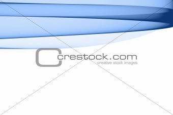 Abstract blue design element