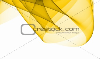 Abstract yellow design element