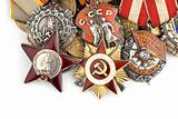 World War II Russian military medals