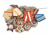 World War II Russian medals
