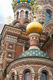 Cathedral of the Saviour on Spilled Blood in St. Petersburg, Rus