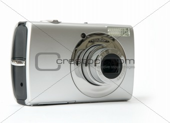 Small metal Digital photo camera