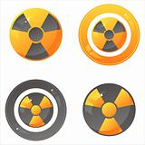 glossy nuclear signs