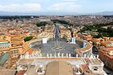 Vatican tilt shift effect