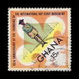 boy scout postage stamp