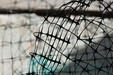 plastic wire fence background