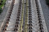 railway tracks background