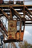 rusty industrial machinery