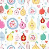 autumn fruit pattern