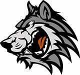 Wolf Mascot Graphic