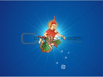 Blessing Angel In New Year