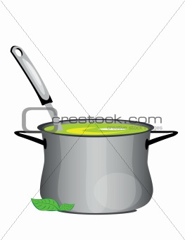 hot soup pan