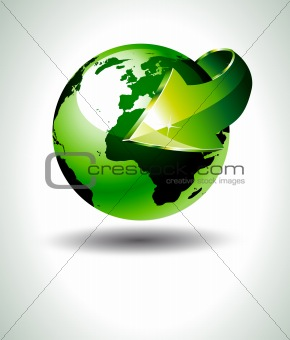 Accurate 3D Earth Design with Green