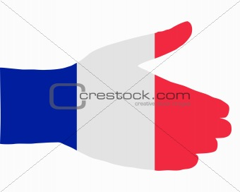 French handshake