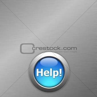 blue help button