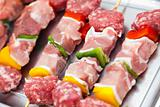 Mixed Meat Kebabs