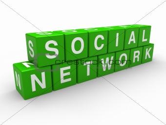 3d network social cube