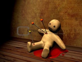 3d voodoo doll
