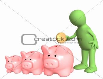 A choice of bank account