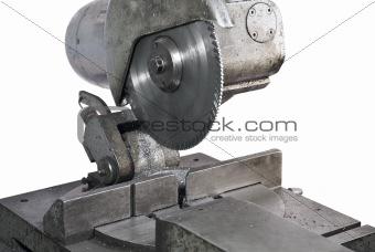 circular saw in close up