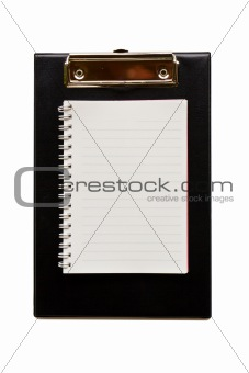 Clip board leather1