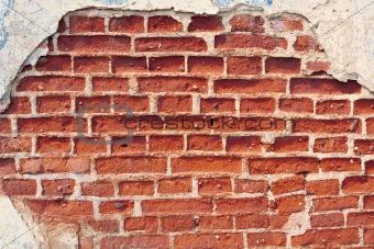 brick wall ruins