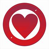 casino sign with heart