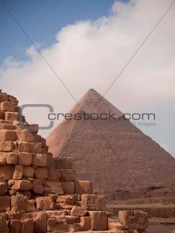 Pyramid detail