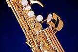 Soprano Saxophone Isolated on Black