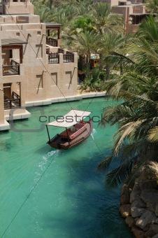 Arabian boat
