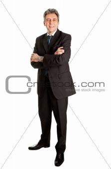 Portrait of successful senior business man