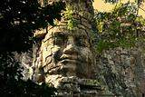 Giant face in Angkor