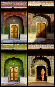 Four seasons doors in Jaipur