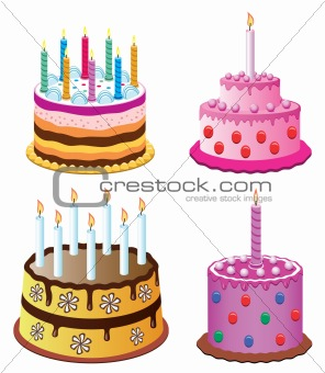 birthday cakes