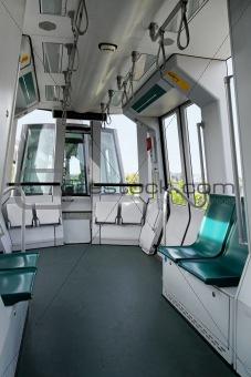 Sky train cabin