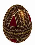 Isolated ornate egg