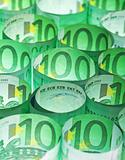 Green money background